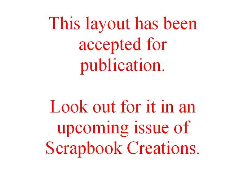 Scrapbook Creations - place card