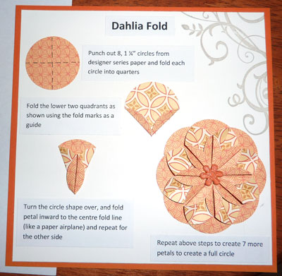 Dahlia-fold