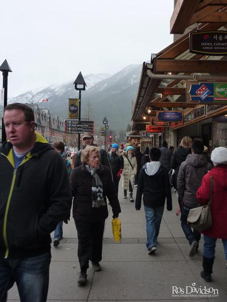 Downtown-banff