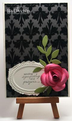 Sympathy-card