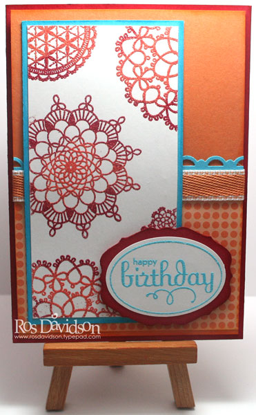 Mixed-embossing