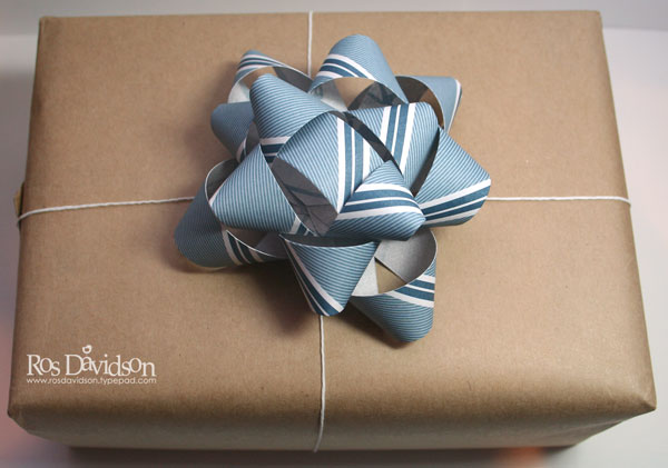 Paper-bow