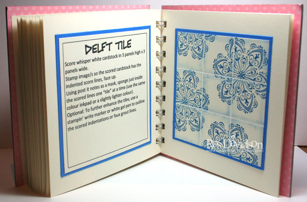 Delft-tile-book