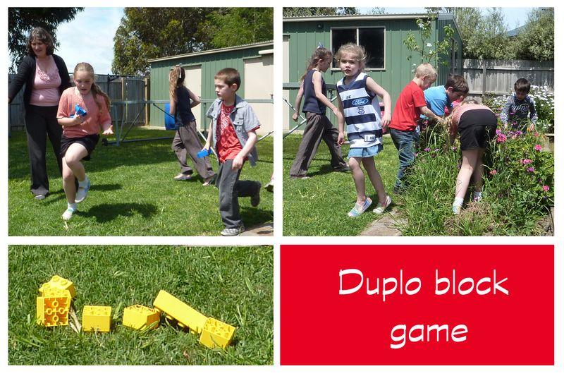 Duplo block game