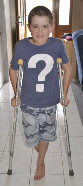 J-crutches