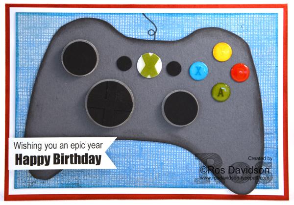 A Fun Birthday Card For Xbox Loving Boy