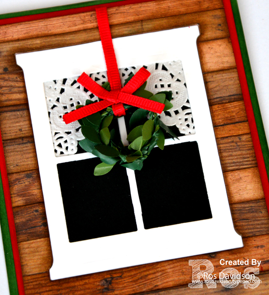 Stampin' Up!, Heart of Christmas, christmas card, big shot, boxwood wreaths, hearth & home framelits, free step by step instructions included