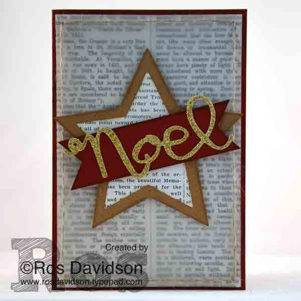 Many-merry-stars card