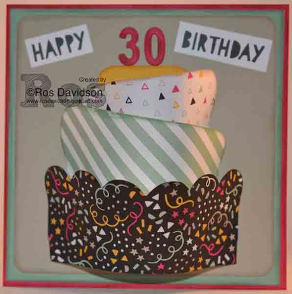 Age awareness, its my party, stampin up, silhouette