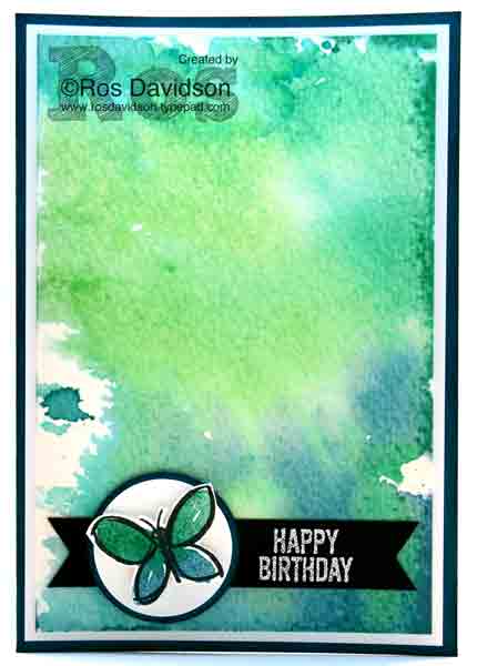 Casing the catty 92, Stampin' Up!, garden in bloom, balloon builders, watercolour, watercolor