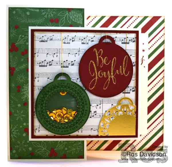 Stampin Up, Stampin Up Australia, Holiday catalogue 2016, merriest wishes, tin of tags, double z fold card, shaker card