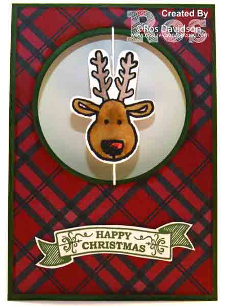 Stampin up, seasonal bells, cookie cutter christmas, big shot, suspended spinner card, warmth & cheer designer series paper stack