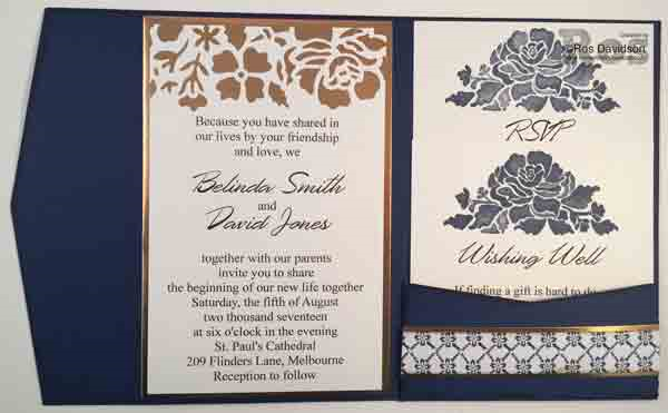 Stampin up, wedding invitation, dsp paper special, floral boutique, floral phrases