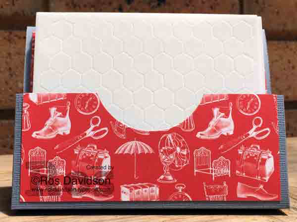 Stampin up, simply scored scoring board, try it thursday, post it note holder, dimensionals holder