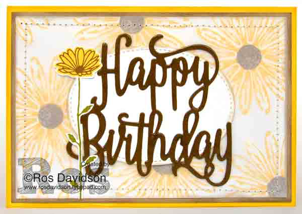 Stampin' Up!, blog hop, art with heart, daisy delight, birthday delivery, big shot, stitched shape framelits, happy birthday thinlets, sunflowers, birthday card, stampin up, card, stampin up demonstrator, stampin up demonstrator melbourne, stampin up independent demonstrator Melbourne, handmade, handmade card, classes in Skye VIC