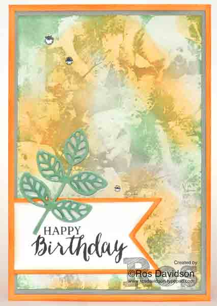 Stampin' Up!, techniques class, distressed glue technique, classes held in Skye, VIC, rose wonder stamp set, flourish thinlets, big shot