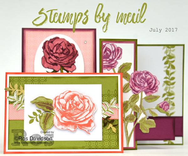 Graceful garden stamps by mail, big shot, instructions available to purchase, fussy cutting, memories & more