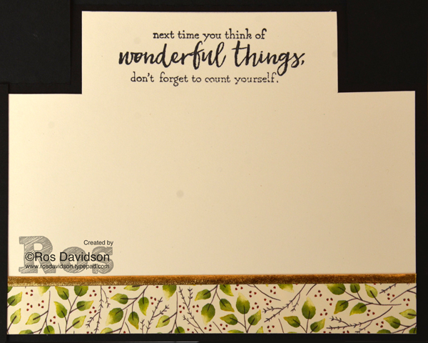 Stampin' Up!, seasonal catalogue, holiday catalogue, blog hop, fancy folds cards, centre step card, big shot, painted harvest stamp set, just add text stamp set, blooms and wishes stamp set, painted autumn designer series paper, fussy cutting