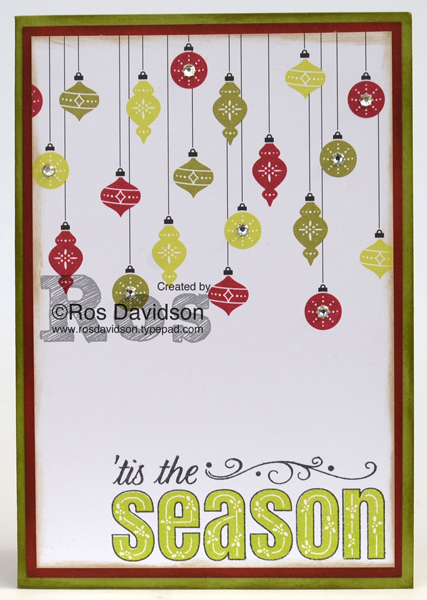 Heart of Christmas, free step by step instructions, Christmas card, merry patterns stamp set, merry little christmas memories and more