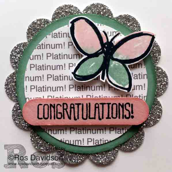 Tag, punch art, something to say, garden in bloom, promotion, stampin up