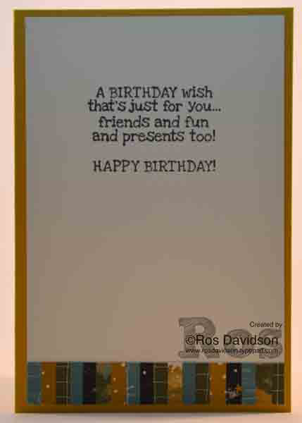 party wishes, remembering your birthday, going places designer series paper, stampin up