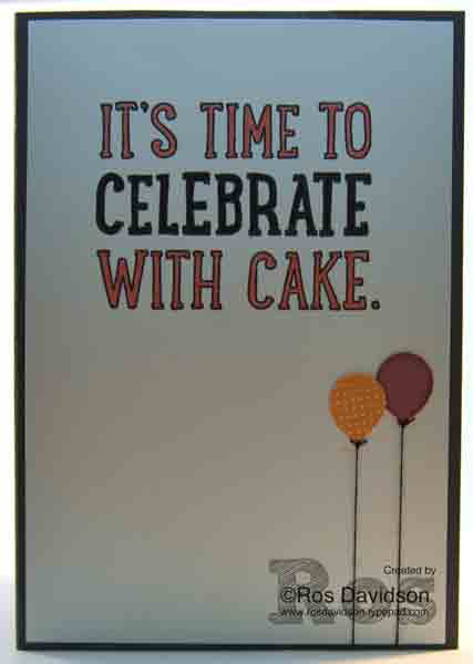 confetti celebration, birthday banners, party with cake, shaker card