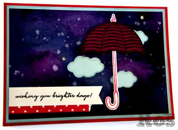 Stampin' Up!, Galaxy Background, weather together