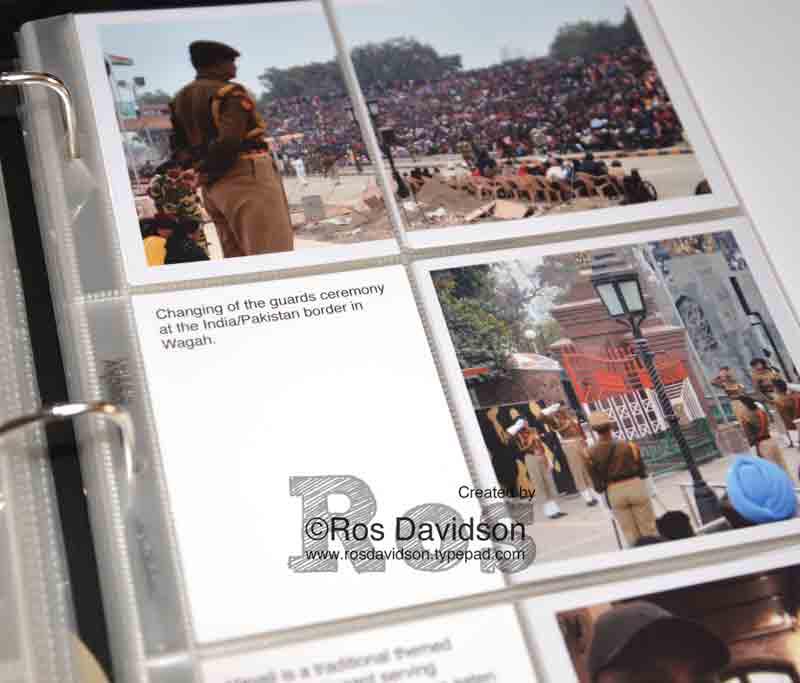 Project Life scrapbooking, india, dubai, travel #project life #stampinup #scrapbooking
