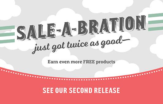 stampin up, sale-a-bration 2nd release, glimmer paper, make a medallion stamp set, reverse words stamp set