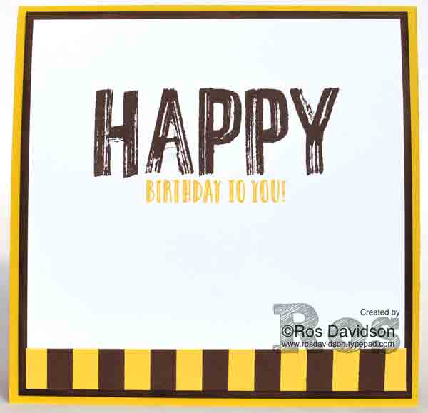 Stampin' Up!, AFL football card, hawthorn football club, birthday card, happy celebrations, confetti celebration, lift me up, big shot, custom order, punch art
