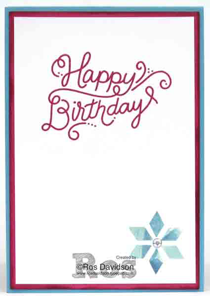 Stampin' Up!, Oh so eclectic, birthday banners, birthday delivery, blog hop, new annual catalogue bundles, birthday card, tips and tricks