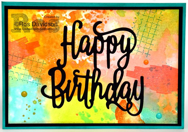 Stampin' Up!, colour combination blog hop, timeless textures, you've got style, oh so eclectic, you've got this, big shot, happy birthday thinlets, washi tape, stampin' spritzers