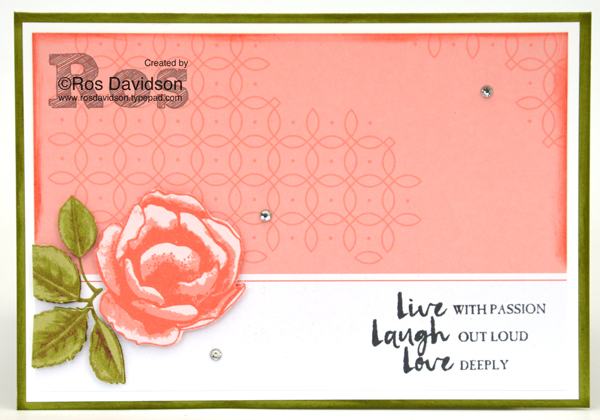 Stampin' Up!, stamps by mail, beautiful you stamp set, petal garden memories and more card kit