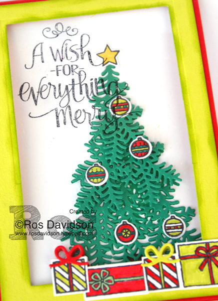 Stampin' Up!, seasonal catalogue blog hop, ready for christmas stamp set, big shot, christmas staircase thinlet dies, window card, peek a boo card, christmas card