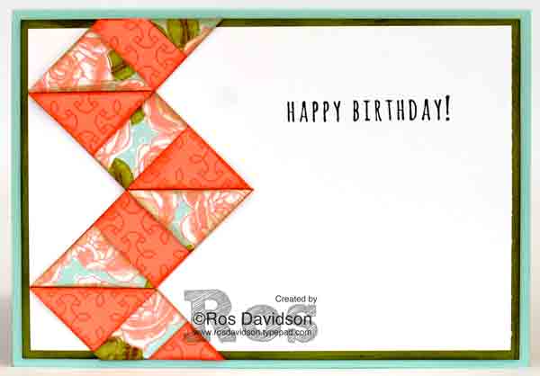 Stampin' Up!, art with heart blog hop, petal garden designer series paper stack, big shot, heat embossing, chevron, machine stitching, stampin' write markers, five for all stamp set