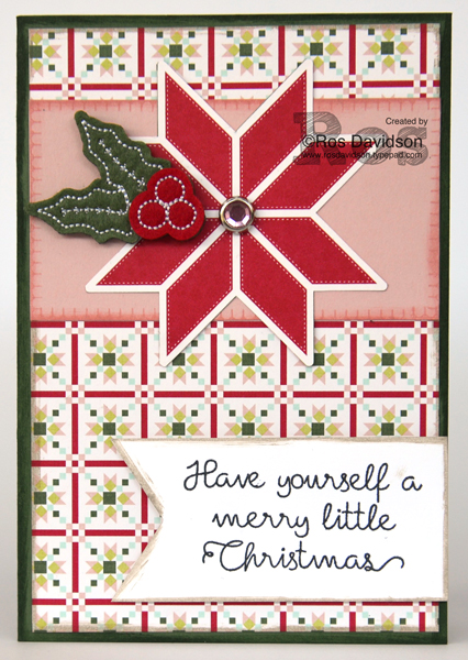 Stampin! up, heart of christmas, christmas card, quilted quilt bundle, stitched felt embellishments,  quilted christmas designer series paper, christmas quilt stamp set