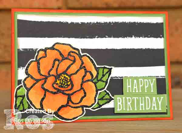 Stampin' Up!, beautiful day, birthday card, birthday wit, watercoloring