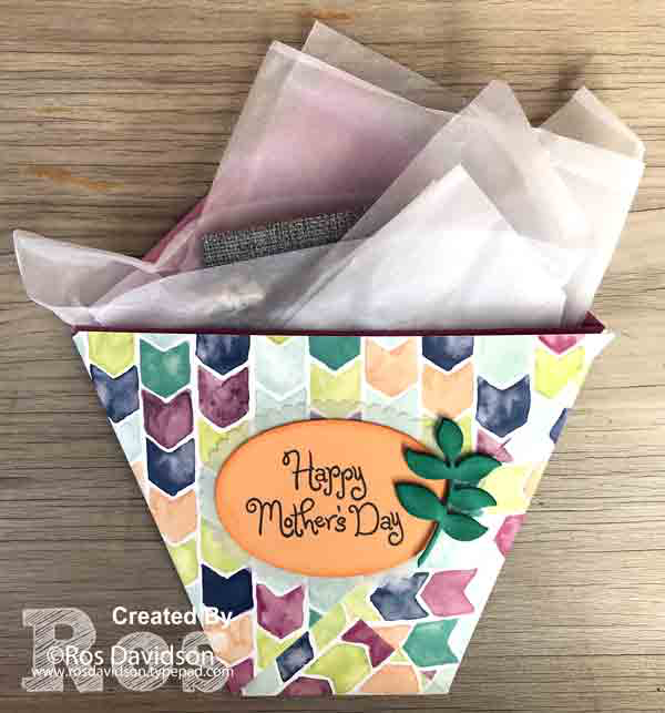 Stampin' Up!, origami, origami gift pouch, naturally eclectic designer series paper, big shot, layering oval framelits