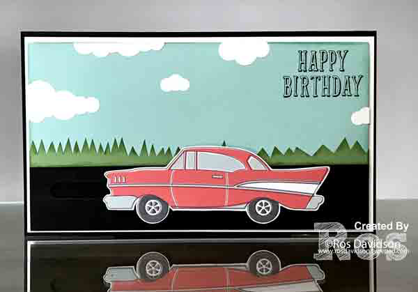Card-sliderStampin up, birthday wit, spinner card, male card, card, birthday card