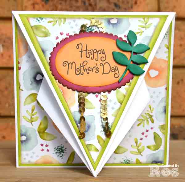 Stampin' Up!, arrow fold card, natural eclectic designer series paper, big shot, eclectic layers thinlets