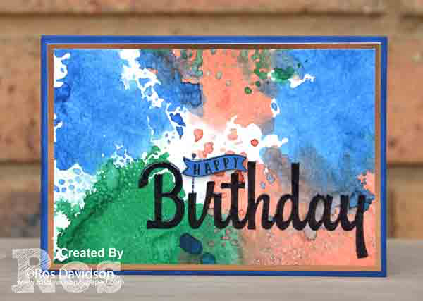 Stampin up, colour creations, blog hop, color coach, colour coach, blueberry bushel, birthday wishes for you, heat embossing