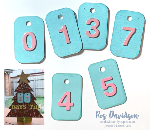 Stampin Up, advent calendar, pool party, cool caribbean, weathered background stamp, crackled paint background stamp