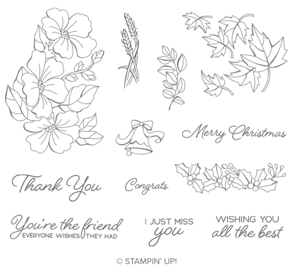Colour-your-season-stamp-set