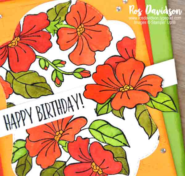 Stampin' Up!, blog hop, blended season, stitched season, big shot, watercoloring, watercoloring, you've got style, sheet music,