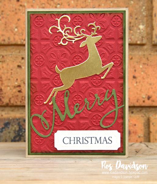 stampin up blog hop heart of christmas christmas cards merry christmas to