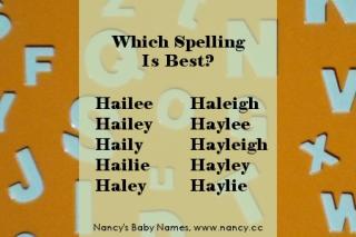 Spelling-hailey