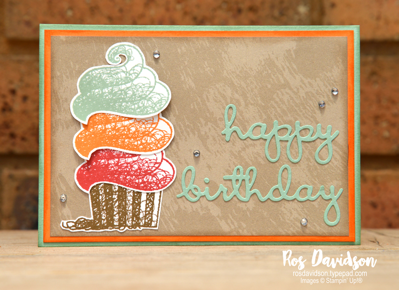Stampin up, colour creations, blog hop, color coach, colour coach, Melbourne Australia, card ideas, mint macaron, saleabration, hello cupcake, better together, fussy cutting, natures poem DSP, well written framelits
