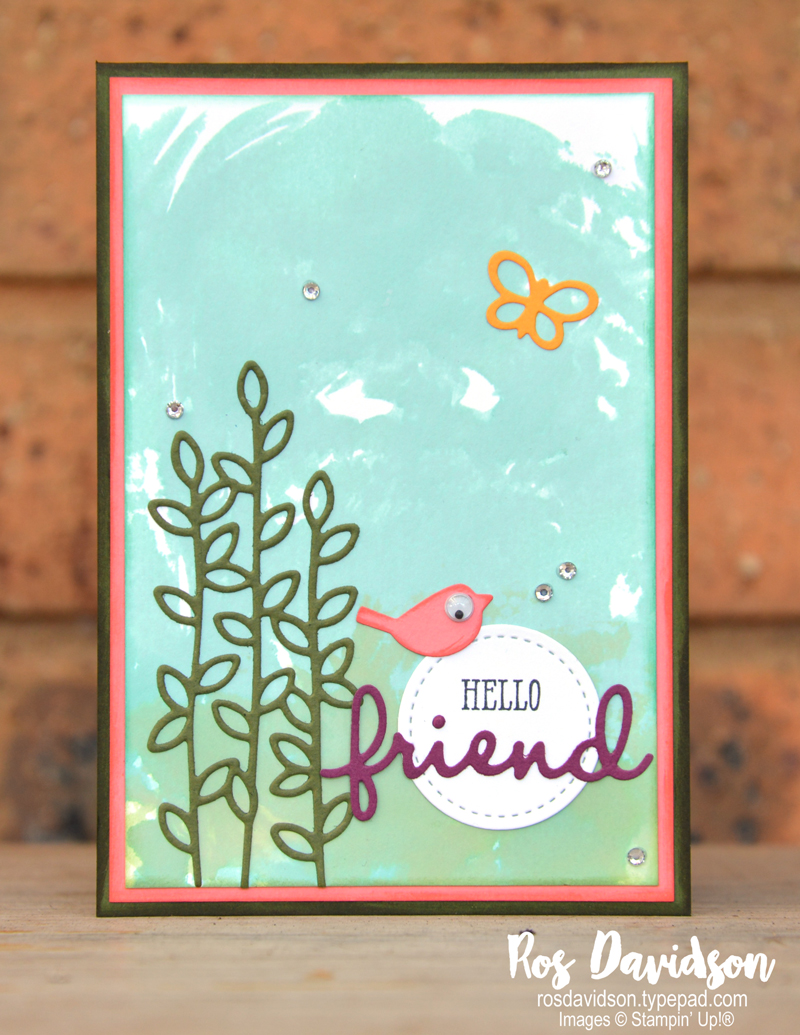 stampin up, well said, well written framelits, big shot, watercoloring, watercolouring, stitched shapes framelits, friend, hello friend, colour creations, color creations, color coach, colour coach
