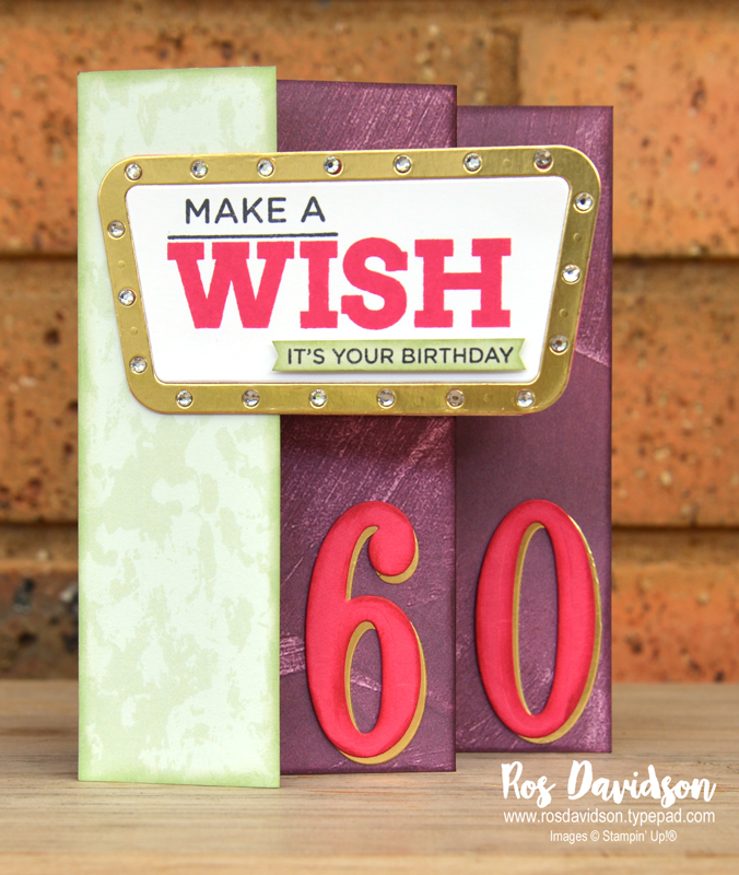 Stampin up, colour creations, blog hop, color coach, colour coach, fresh fig, fancy fold card, concertina card, broadway birthday, big shot, card classes in skye melbourne Australia,