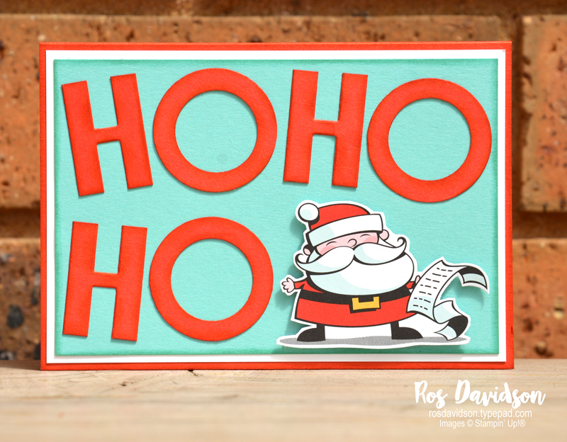Stampin up, blog hop, heart of christmas, Christmas cards, Melbourne Australia, card ideas, santa workshop, memories and more